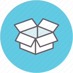 box, container, moving, package, packing, shipping icon
