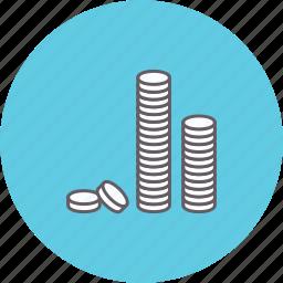 buying, cash, coin, money, paying, saving icon