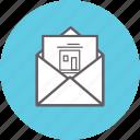 correspondence, envelope, letter, mail, inbox, message