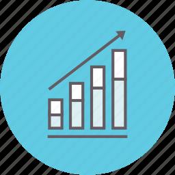 analysis, analytics, chart, diagram, graph, growth icon