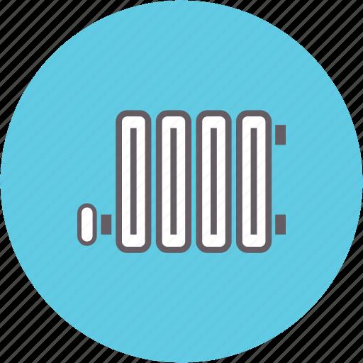 heat, heater, heating, radiator icon