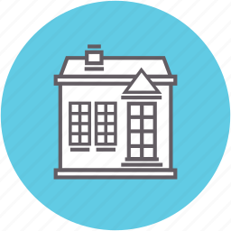 apartment, building, home, house, real estate, residence icon