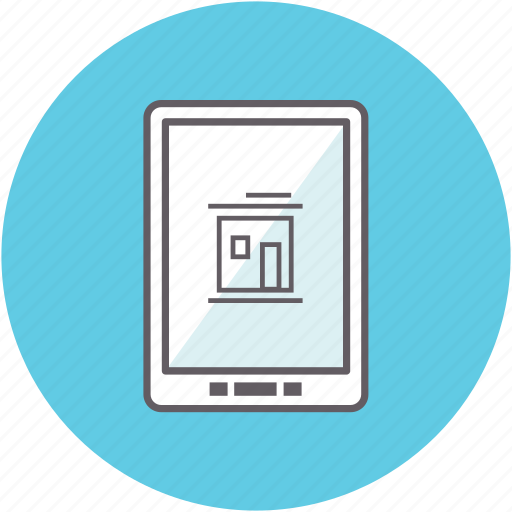 computer, device, gadget, search, smartphone, tablet icon