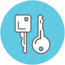 access, key, open, protection, secure, unlock icon