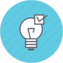 bulb, electricity, energy, light, lightbulb, power icon