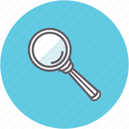 explore, inspection, magnifying glass, searching, view, zoom icon