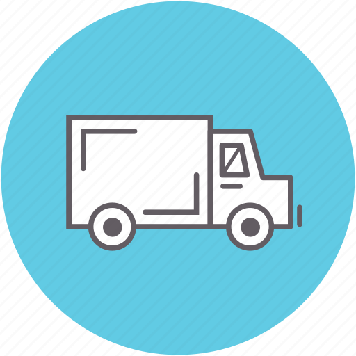 delivery, moving, shipping, transportation, truck, van, vehicle icon