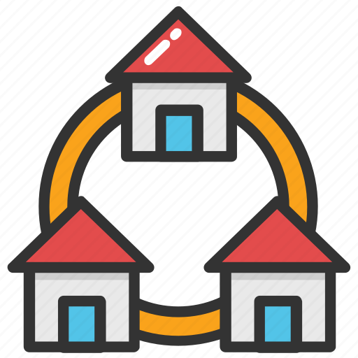 houses, housing project, housing scheme, property project, realestate icon