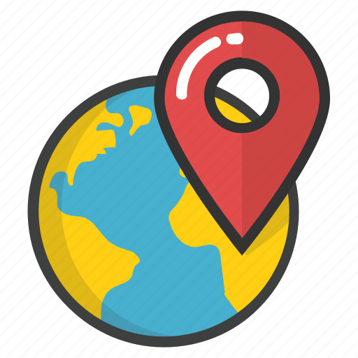 global location, global positioning system, gps, international location, worldwide location icon