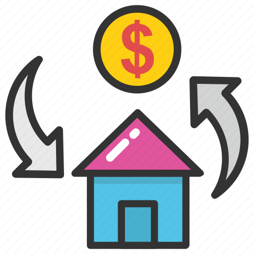 estate graph, home value, property estimation, property value, property value graph icon
