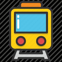 locomotive, train, tram, transport, travel icon