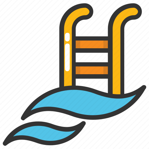 leisure activity, relaxation, spa, swimming, swimming pool icon