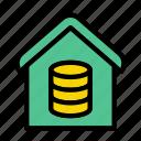 house, home, realestate, database, server