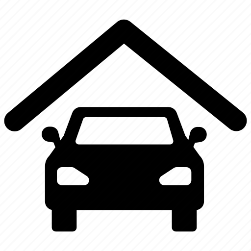 car, garage, housing, parking, property, space icon