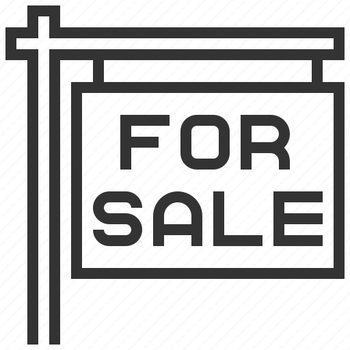 building, estate, home, house, property, real, sale icon