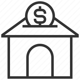 building, estate, home, house, money, property, real icon