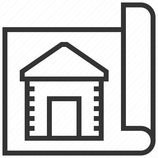 building, estate, home, house, property, real, report icon