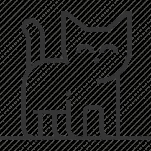 allowance, cat, house, kitten, live, pet, pussy cat icon
