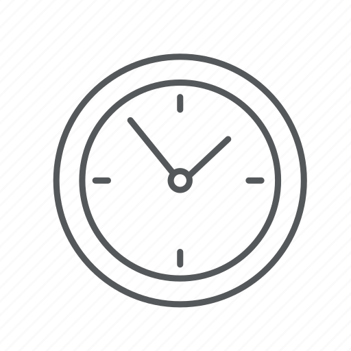 clocks, hours, time icon
