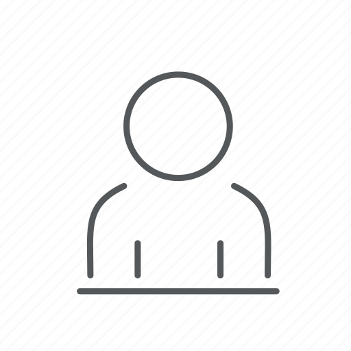 Man, person, profile icon - Download on Iconfinder