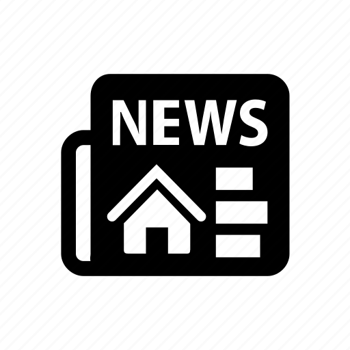 building, business, estate, house, news papper, property, real icon