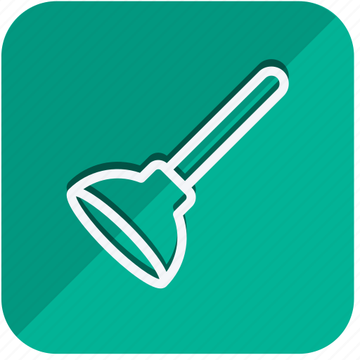 building, construction, estate, plunger, property, real, tools icon
