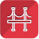 building, construction, estate, golden gate bridge, property, real, tools icon