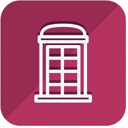 building, construction, estate, monument, phonebooth, property, real icon