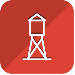 building, estate, house, lighthouse, monument, property, real icon