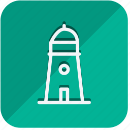 building, construction, estate, lighthouse, monument, property, real icon