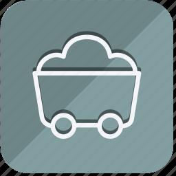 building, construction, estate, property, real, tools, wheelbarrow icon