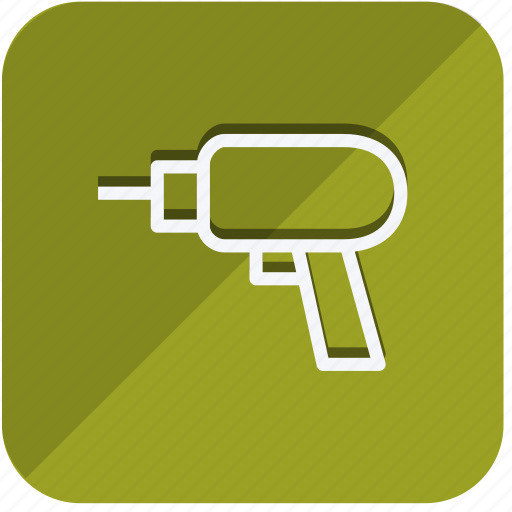 building, construction, drill machin, estate, property, real, tools icon