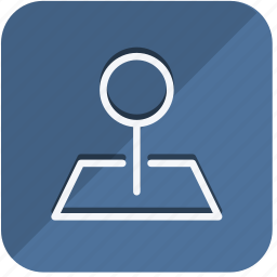 building, construction, estate, location, map, pointer, real icon
