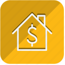 building, estate, home, house, monument, property, real icon