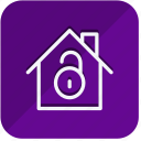 building, construction, estate, home, house, lock, real icon