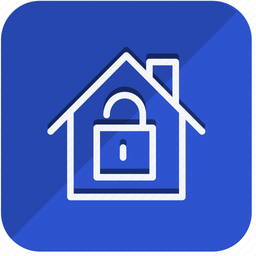 construction, estate, home, house, lock, property, real icon