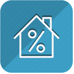 building, construction, estate, home, house, percentage, property icon