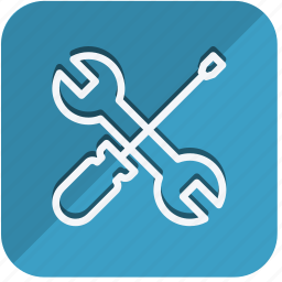 building, construction, estate, property, real, tools, wrench icon