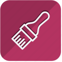 brush, building, construction, estate, paint brush, property, tools icon