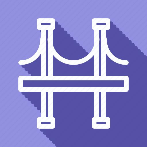 apartment, architechture, bridge, building, house, monument, realestate icon