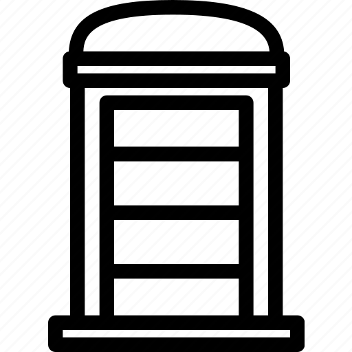 box, british, building, call, property, realestate, telephone icon