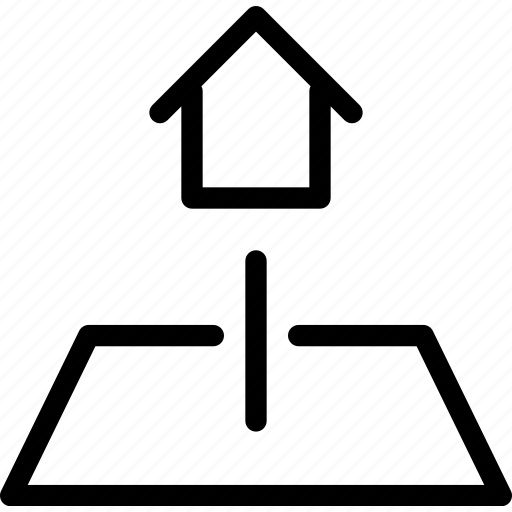 architectural, building, estate, home, house, property, real icon