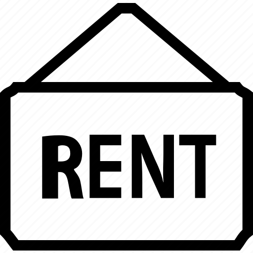 board, building, estate, house, property, real, rent icon