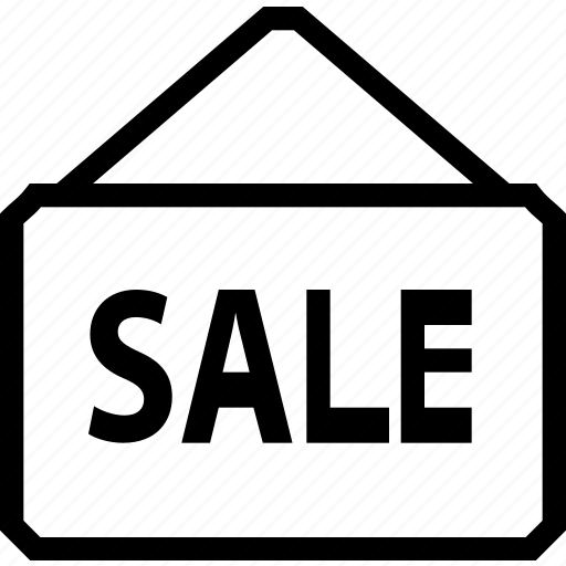 board, building, estate, house, property, real, sale icon