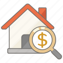 house, housing, information, price, pricing, real, real estate icon