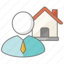 agent, auctioneer, estate, house, housing, real
