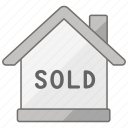 agent, estate, house, property, real, sold icon