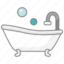 bath, bathroom, information, property, shower, tub icon