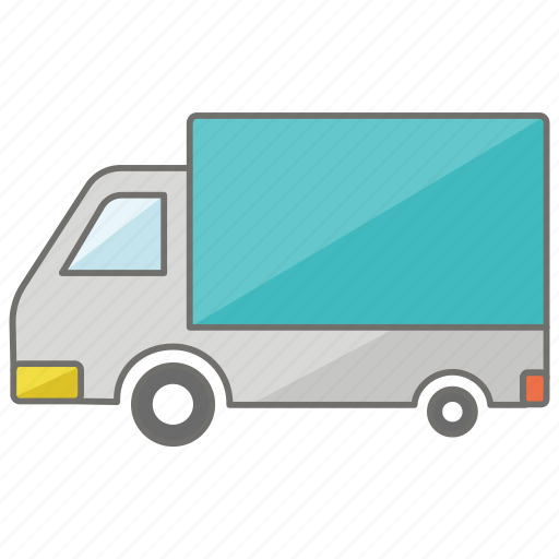 delivery, removal, removalist, truck, van icon