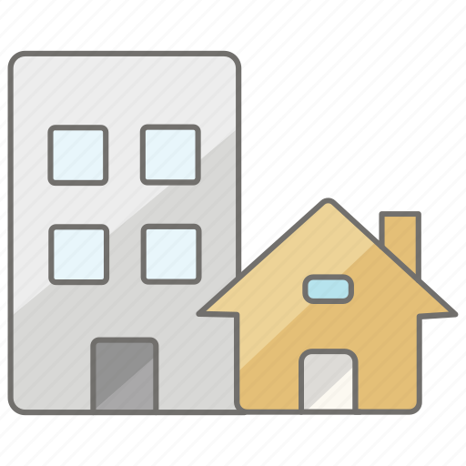 business, commercial, estate, housing, properties, property, real icon
